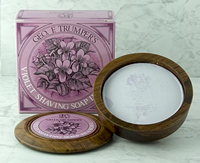 Geo F Trumper Violet Shaving Soap in a Wooden Bowl (80g)