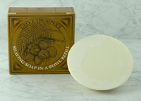 Geo F Trumper Coconut Shaving Soap Wooden Bowl Refill (80g)