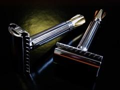Digress XL B Adjustable Safety Razor Brass Retrofit