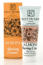 Geo F Trumper Almond Soft Shaving Cream in Stand Up Tube (75g)