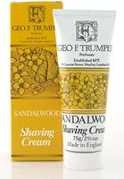 Geo F Trumper Sandalwood Soft Shaving Cream in Stand Up Tube (75g)