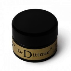 Dr Dittmar Moustache Wax Glass Jar