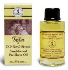 Taylor of Old Bond Street Sandalwood Pre Shave Oil 30ml