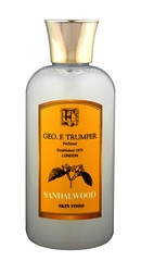 Geo F Trumper Sandalwood Skin Food Travel Bottle 100ml