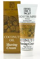 Geo F Trumper Coconut Soft Shaving Cream in Stand Up Tube (75g)
