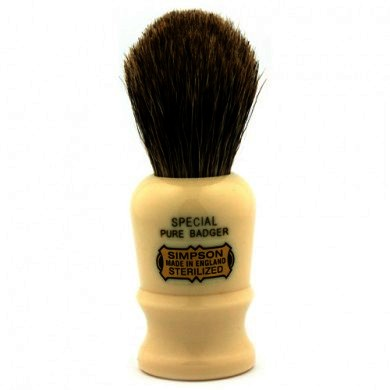 Simpsons Special Pure Badger Hair Shaving Brush