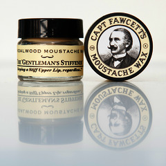 Captain Fawcett's Sandalwood Moustache Wax 15ml