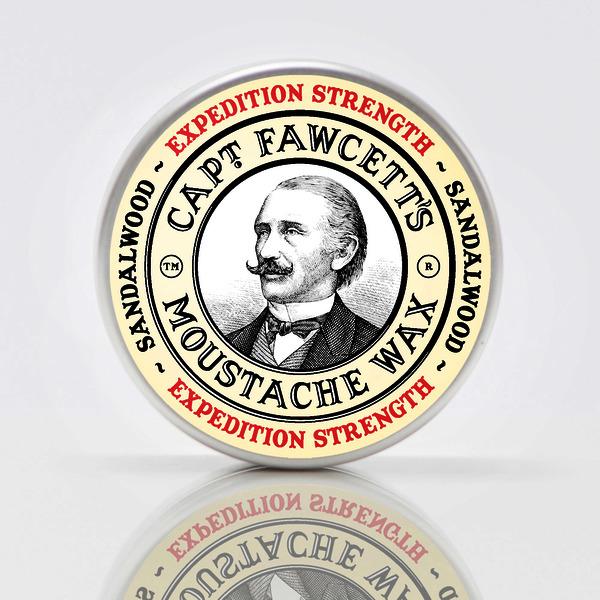 Captain Fawcett's Expedition Strength Moustache Wax 15ml