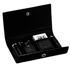 Merkur 46 Travel Razor and Leather Case