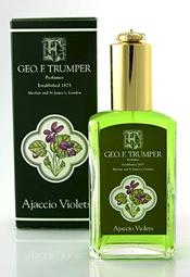 Geo F Trumper Ajaccio Violet Cologne glass atomiser bottle (50ml)