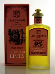 Geo F Trumper Extract of Limes Cologne glass crown top bottle (splash) 100ml