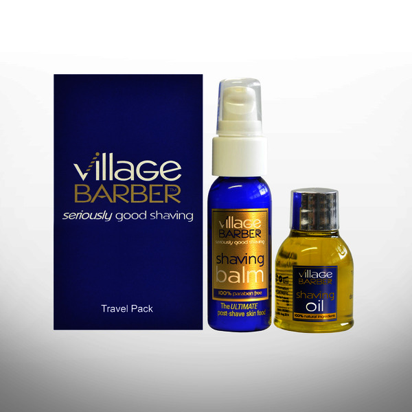 Village Barber Travel Pack