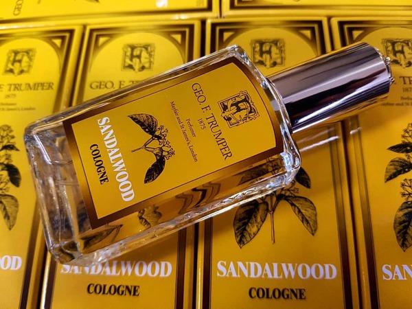 Geo F Trumper Sandalwood Cologne Atomiser Glass Bottle (50ml)